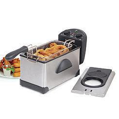 3.5-Qt. Deep Fryer in Stainless Steel