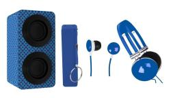 4-in-1 Combo Portable Bluetooth Stereo Speaker Pack