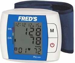 Fred's Digital Wrist Blood Pressure Monitor
