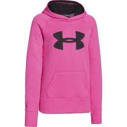 Under Armour Girls' Storm AF Printed Big Logo Hoody