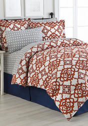 Home Accents Reversible Turnstyle 8-Pc. Bedding Sets