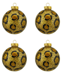 Celebrate It Boxed Glass Ornaments
