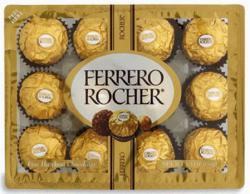 Buy 1, Get 2nd Free Ferrero Rocher 12-Ct. & Raffaello 5.3-Oz. Candies