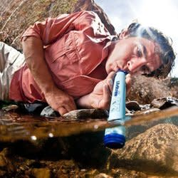 LifeStraw Personal Water Filter for $16