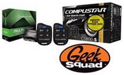 CompuStar Remote Car Starter Kit for $230