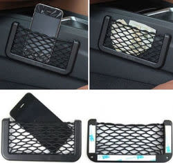 Car Seat Side Storage Net for $1