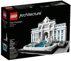 LEGO Architecture Trevi Fountain for $30
