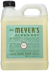 Mrs. Meyer's 33-oz. Liquid Hand Soap Refill for $4 + free shipping