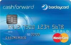Barclaycard CashForward(TM) World Mastercard(R)