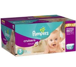Pampers Cruisers Economy Plus Diaper 174-Pack