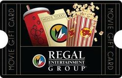 $50 Regal Entertainment Gift Card