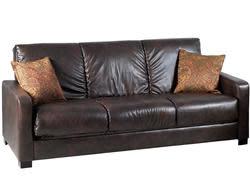 Portfolio Trace Renu Leather Sofa Sleeper for $409