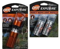Off! Insect Repellent w/ 2 Refills for $7
