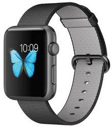 Apple Sport 42mm Watch w/ Woven Nylon Band $230