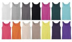 Women's Ribbed Tank Top 10-Pack for $17