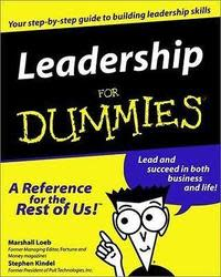 """Leadership for Dummies"" eBook for free"